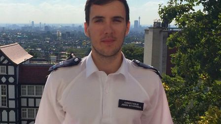 Pc John Hounsell will be keeping residents up to date with news from the Highgate policing team in C