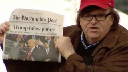 Hard truth: a scene from Michael Moore's Fahrenheit 9/11. Photo: Archant