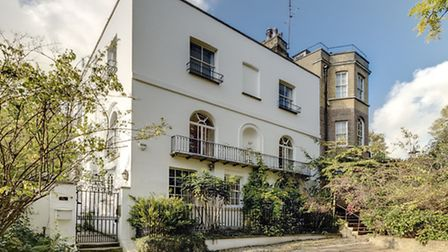 The seven-bedroom Georgian house on Frognal is on the market for �7.95million