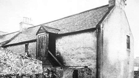 The house at Allen Lane in Lossiemouth, Scotland, where Ramsay MacDonald was brought up