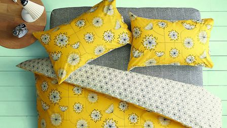 Statement bed covers can be a great way of bringing in some luxury and comfort, MissPrint Dandelion