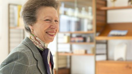 Princess Anne at Hackney's new 'Pocket' housing complex