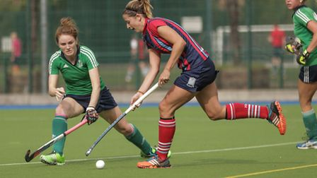 Hayley Turner struck twice for Hampstead & Westminster. Pic: Mark Clews