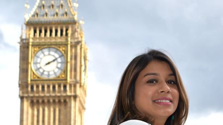 Tulip Siddiq MP, Parliament Square
