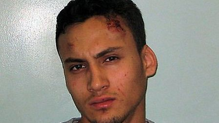 Daniel Santiago was jailed for nine years and four months for conspiracy to rob
