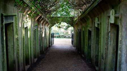 Highgate Cemetery is notorious for its hauntings.