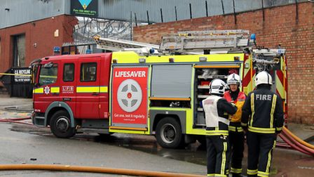Shoreditch's only remaining fire engine attending a large blaze in Tottenham, which would have left