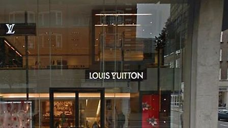The Louis Vuitton shop was targeted by a gang of thieves (Picture: Google Streetview)