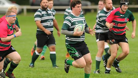Brian O'Regan scored Hendon's fourth try, which secured the bonus point that took them one point cle