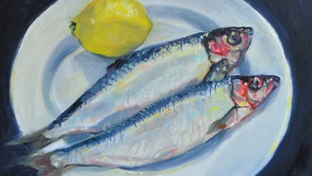 Herrings, Lemon by Maria Farrar