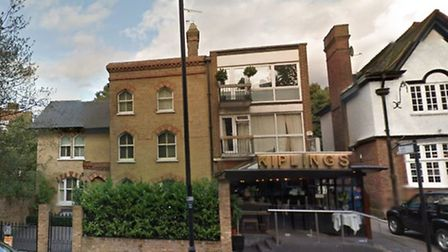 Kiplings Indian Restaurant, where a 22-year-old Bangladeshi man was arrested on suspicion of illegal