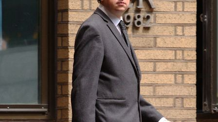 Carl Ryan, who is charged with misconduct in a public office, outside court (Picture: Central News)