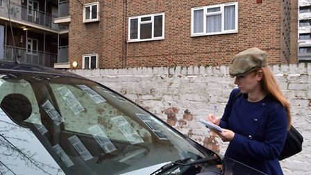 Reporter Emma Youle investigates the misuse of parking permits at Catherwood Court car park in Hoxto
