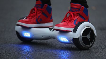 The Crown Prosecution Service declared hoverboards are too unsafe to ride on the road, and too dange
