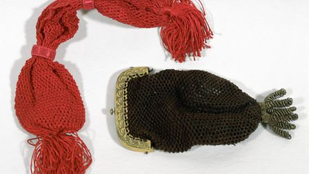 Net purses made for John Soane by his grand-daughters, Christmas 1829. Picture: AccuSoft Inc.