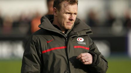 Saracens' director of rugby Mark McCall. Pic: PA