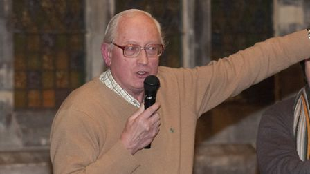 Michael Taylor of the St Stephens Trust told the meeting the former church will be at risk of falli