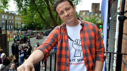 Jamie Oliver has moved from Primrose Hill to Highgate. Picture: Polly Hancock