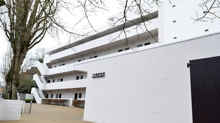 The Modernist Isokon building