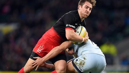 Chris Wyles in action for Saracens