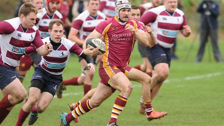 Jonathan Hallett made his league debut for Hampstead in Saturday's victory over Welywn. Pic: Paolo M