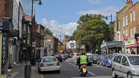 Highgate Village. Picture: Ian Henghes