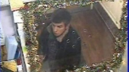 Police want to speak to this man in connection with a sexual assault in Kentish Town on December 5