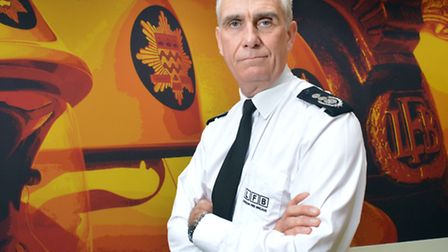 London Fire Commissioner Ron Dobson. Picture: Polly Hancock