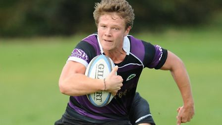 Rob Hooper scored Belsize Park's opening try. Pic: Paolo Minoli