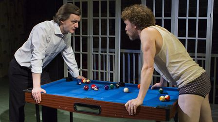 Alan Cox and Oscar Pearce in The Divided Laing. Picture: Adam Bennett