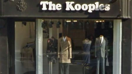 """The Kooples fashion store in Hampstead High Street, where the woman says she was told she wasn't """"sk"""