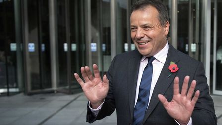 """Leave campaigner Arron Banks, who is being investigated by the National Crime Agency for """"suspe"""