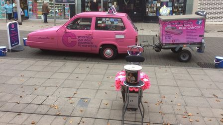 Team Lauren Lou cancer fundraising held a street collection for its local appeals fund in Lowestoft. Picture: Courtesy of...