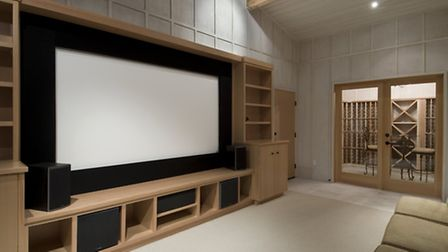 A home cinema for the family home would be an entertaining way to invest £50k