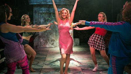Legally Blonde The Musical. Picture: Darren Bell
