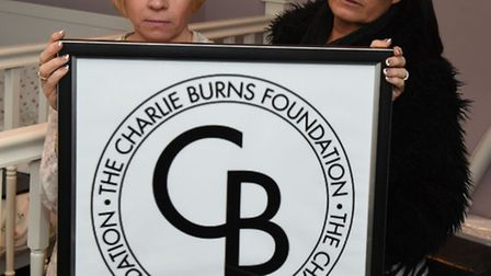 These two ladies have set up a Foundation in memory of Keeley's son, Charlie Burns, who was stabbed
