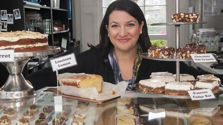 Natalie Allen at Sweet Things in Primrose Hill. Picture: Nigel Sutton