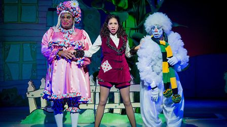 Jack and the Beanstalk at Hackney Empire. Picture: Robert Workman