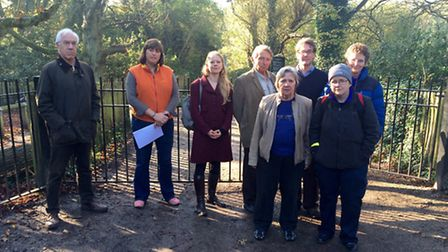 Friends of Millfield Lane campaigners
