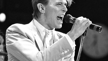 David Bowie in 1987 PA Wire