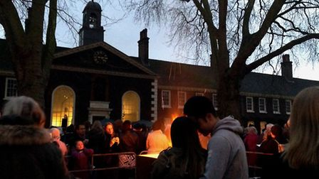 Farewell to Christmas event at the Geffrye Museum