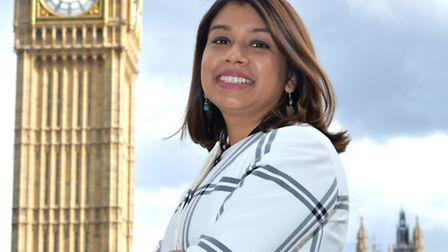 Tulip Siddiq is expecting her first child in April