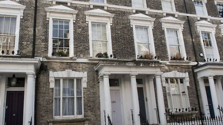 The Primrose Hill home that Cllr Bucknell rented out to a tenant