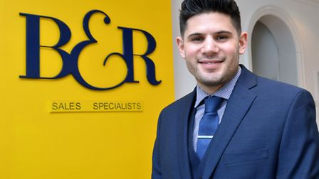 Yonni Tahor, sales manager Benham & Reeves West Hampstead