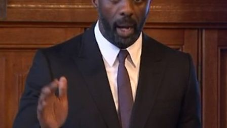 Idris Elba addresses MPs in parliament about the lack of diversity in British television