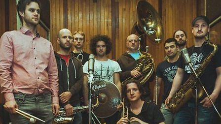 The Hackney-based brass band have released their cover for charity