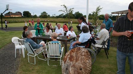 The Redlingfield recreational area being enjoyed by residents. Picture: Janet Norman-Philips