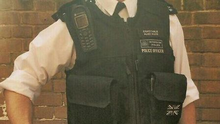 Weapon uncovered by Pc Alex Ware last July