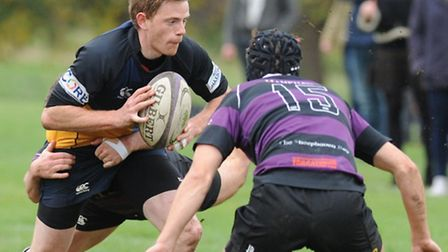 Hackney's Sean Conner scored two tries against Grasshoppers