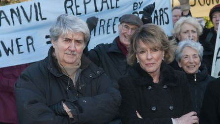 Tom Conti and Esther Rantzen oppose plans to build an underground car park on a nature site